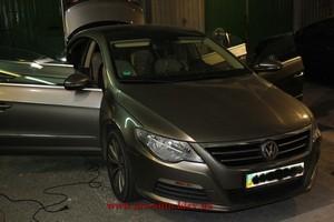 Volkswagen Passat CC, Химчистка салона автомобиля.