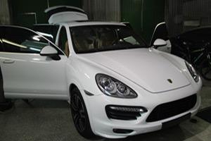 Химчистка салона Porsche Cayenne