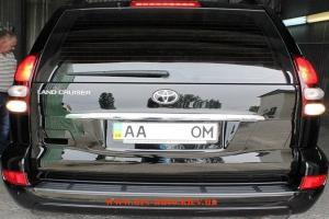 Toyota Prado, полировка кузова и защита кузова нанокерамикой