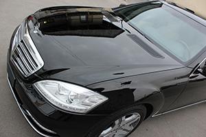 Mercedes-Benz S-Class, Восстановительная полировка кузова и нанесении защитного нанопокрытия C.QUARTZ.
