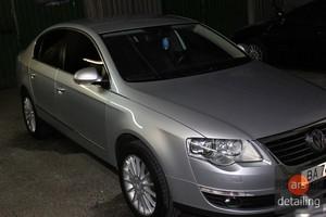 Комплекс по уходу Volkswagen Passat B6: Полировка авто, химчистка салона, нанесении защитного нанопокрытия C.QUARTZ.